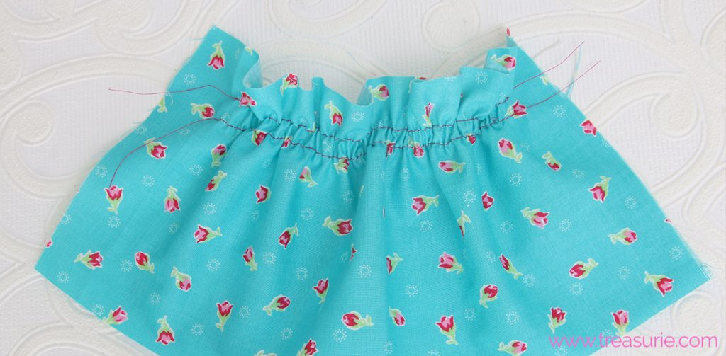 How to Sew Ruching with Shirring