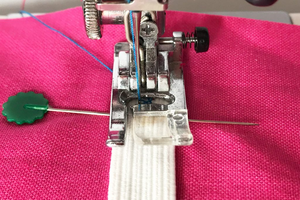 Ruching with Elastic