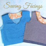Sewing Facings: How to Sew Facings Round & V-Neck