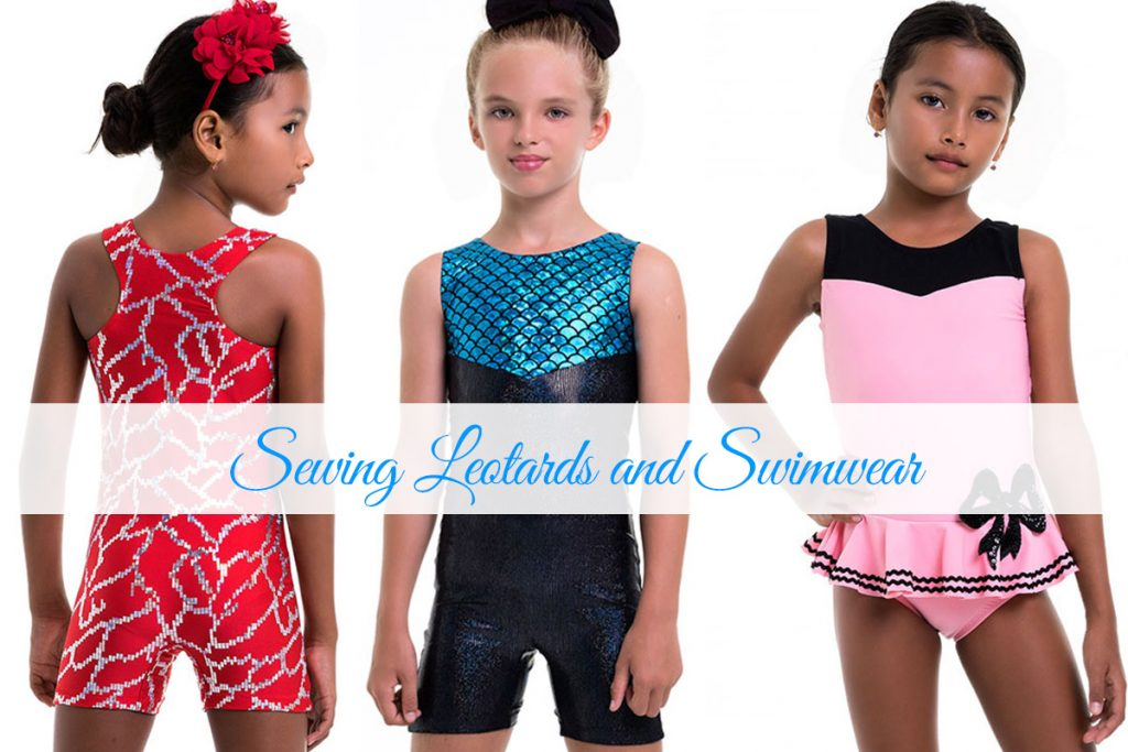 sewing swimwear, sewing leotards