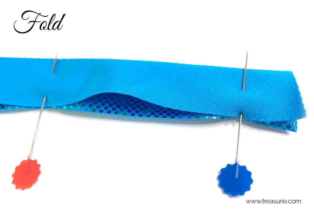 spandex straps turning method