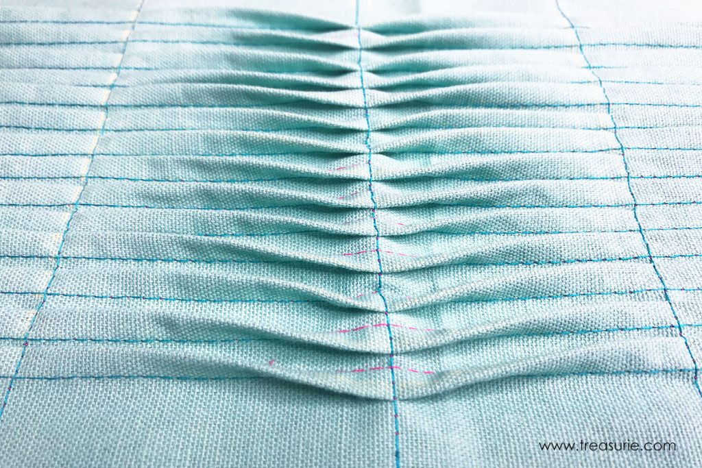 how to sew pin tucks