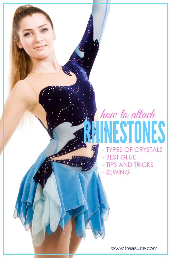 how to attach rhinestones