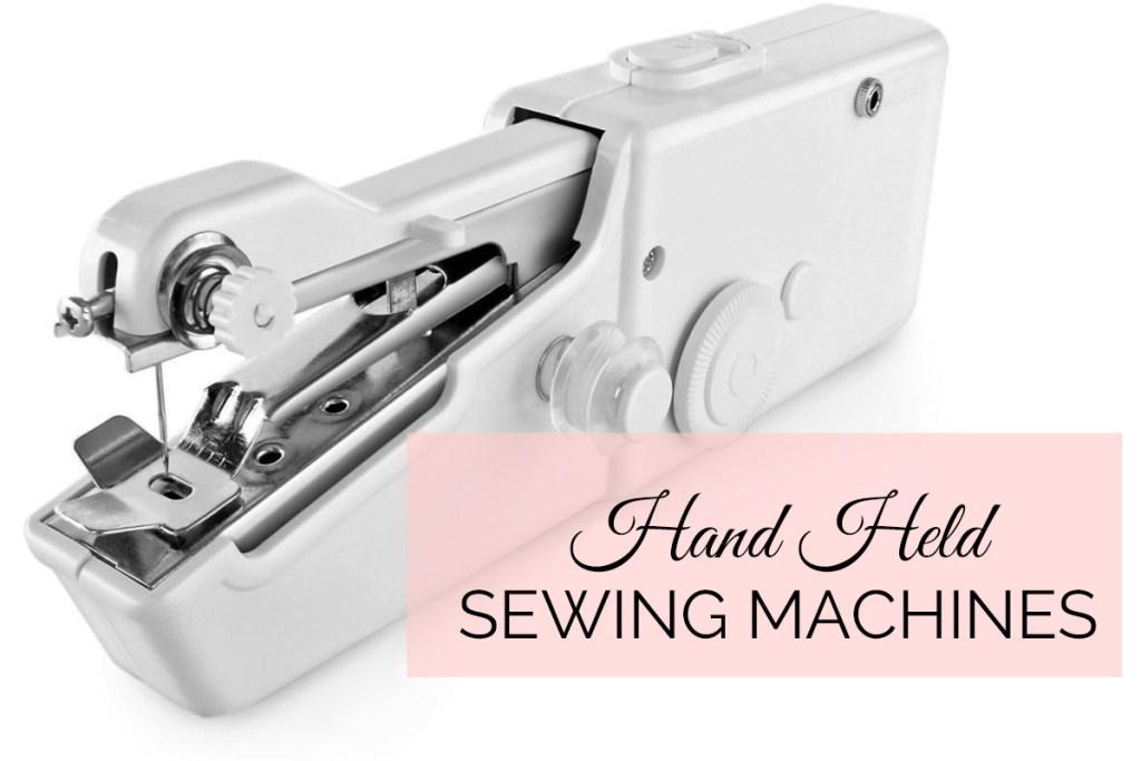 Best Handheld Sewing Machine To Buy 40 TREASURIE Magnificent How To Thread Handheld Sewing Machine