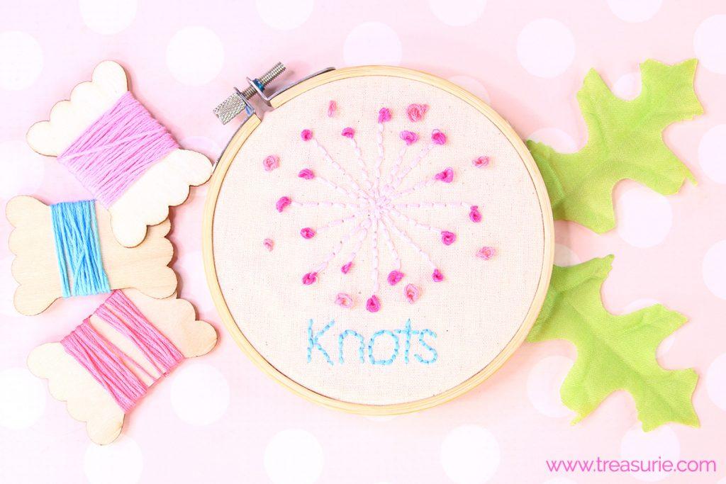 french knot stitch