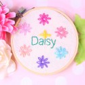 Lazy Daisy Stitch | Embroidery Tutorial