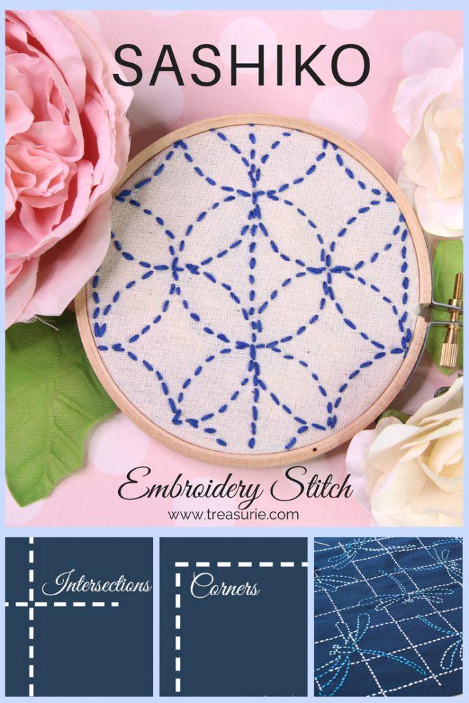 Learn how to sew Sashiko Embroidery