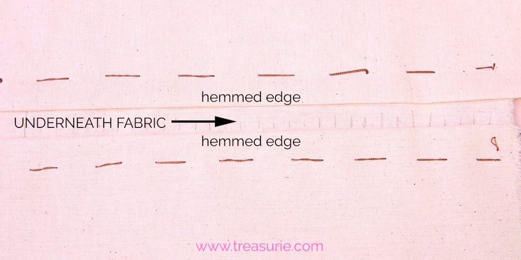 faggoting preparation of edges