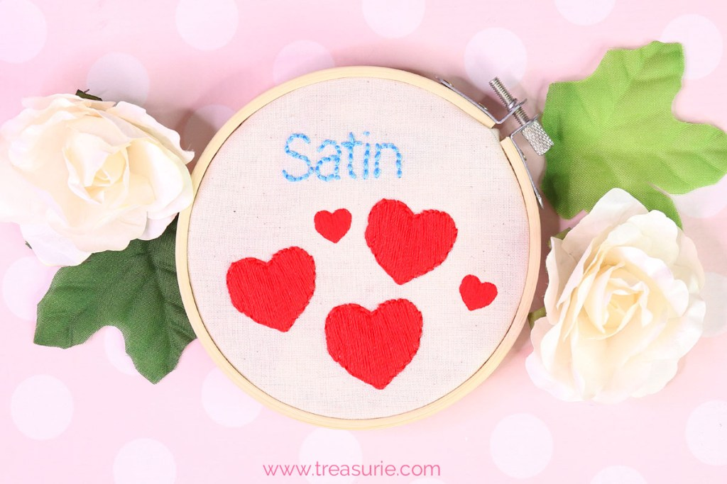 Satin Stitch Embroidery Tutorial Treasurie
