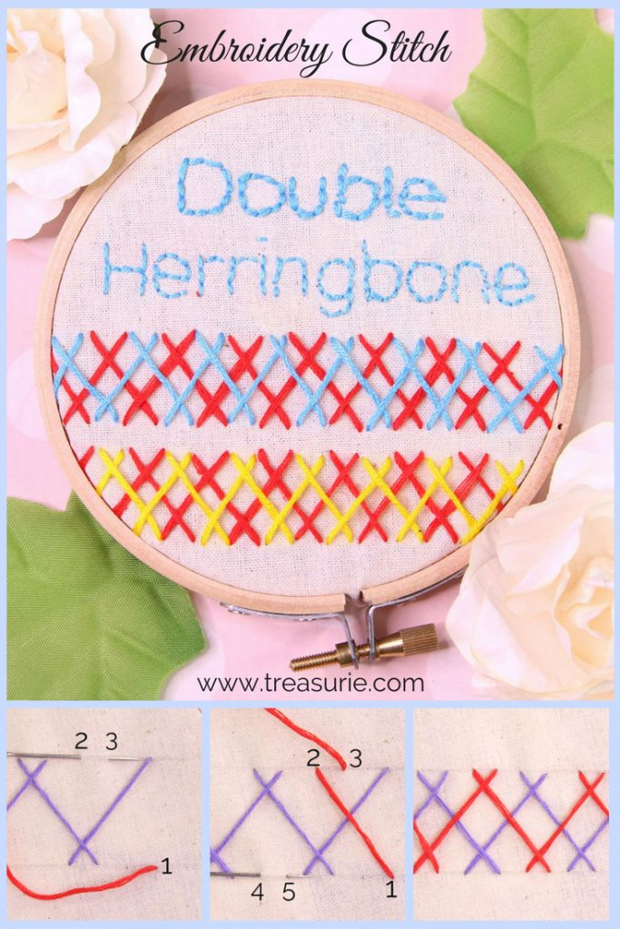 double herringbone stitch