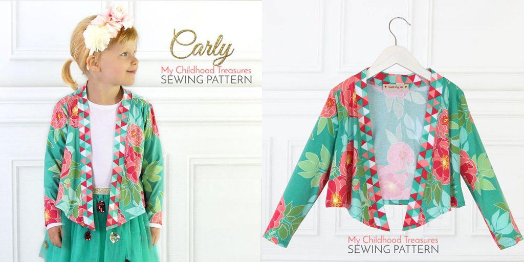 cardigan sewing pattern