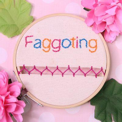 faggoting embroidery