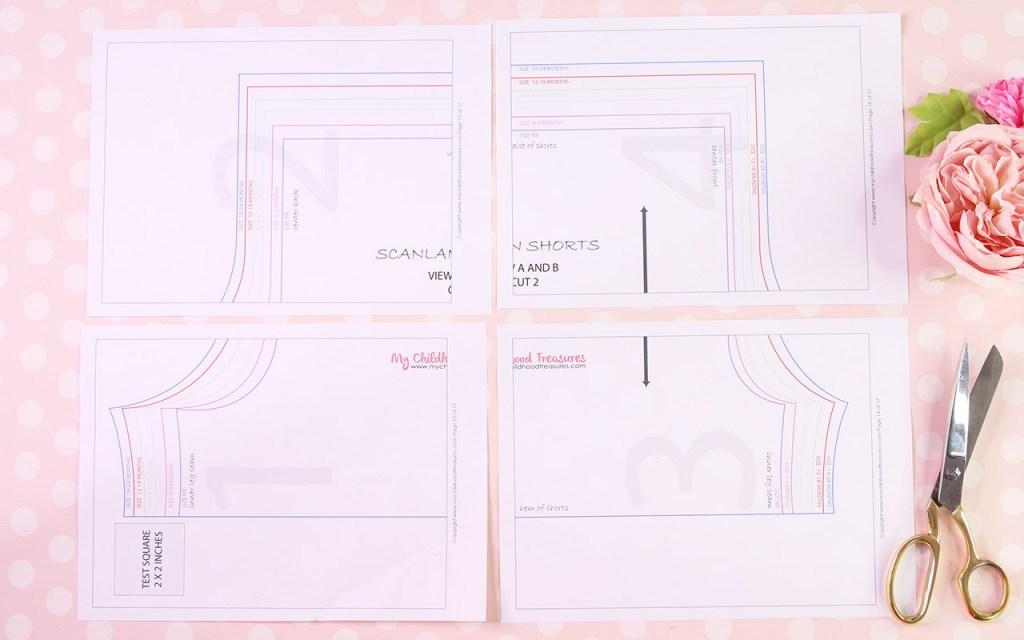 How to Print PDF Patterns - Grid