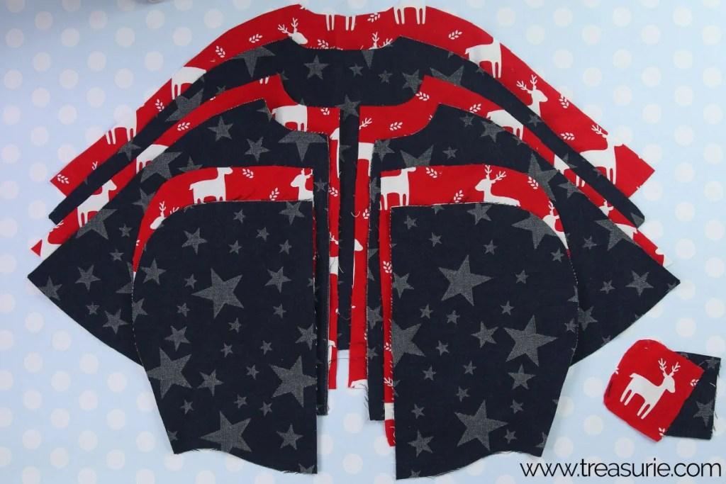 cape pattern pieces