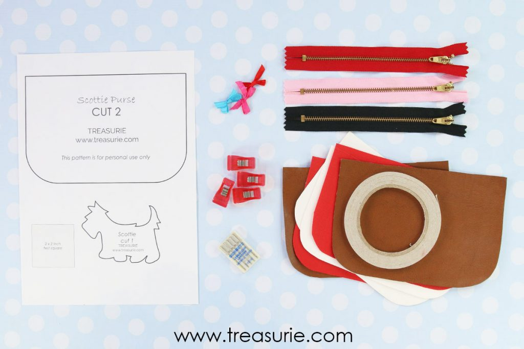 Supplies for leather purse
