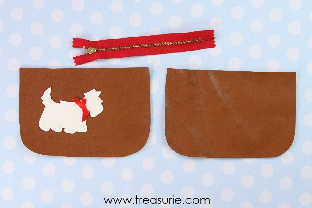 step 2 sew the dog