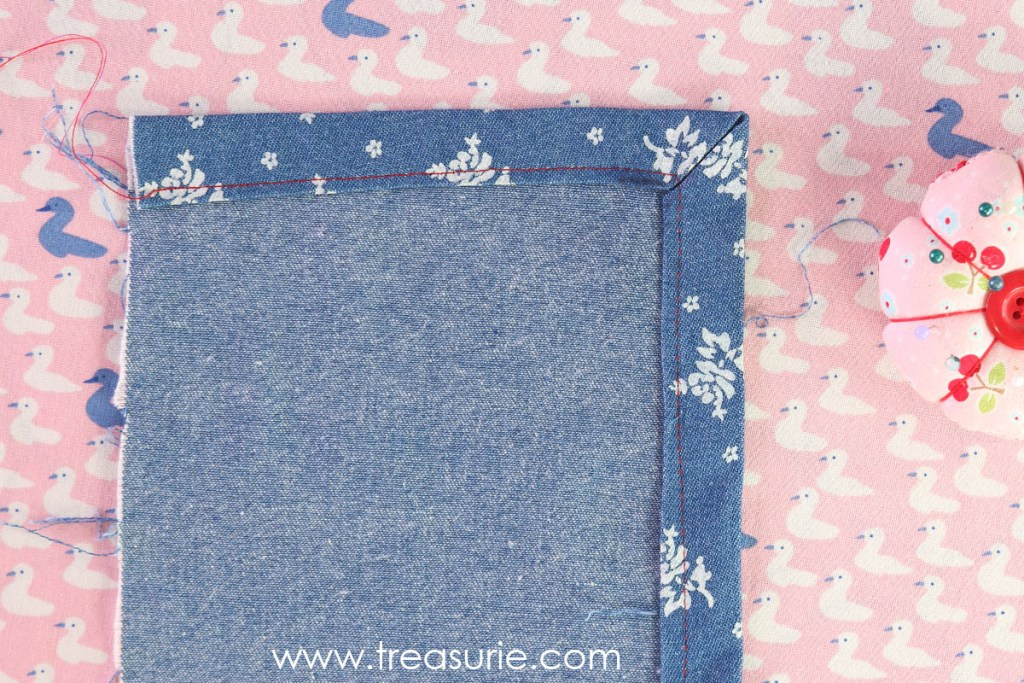 How to Sew Mitered Corners - Stitch