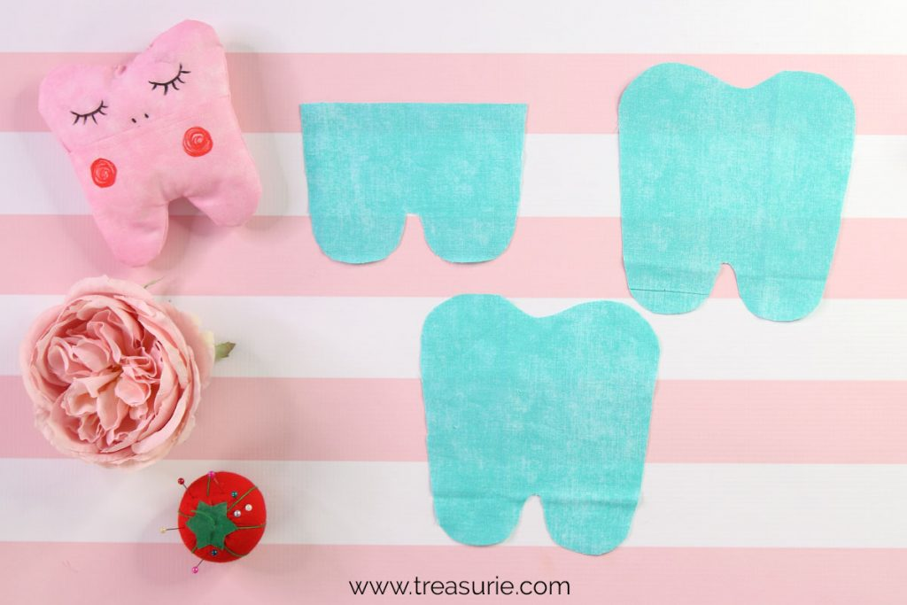 Tooth Fairy Pillow Pattern Cutting