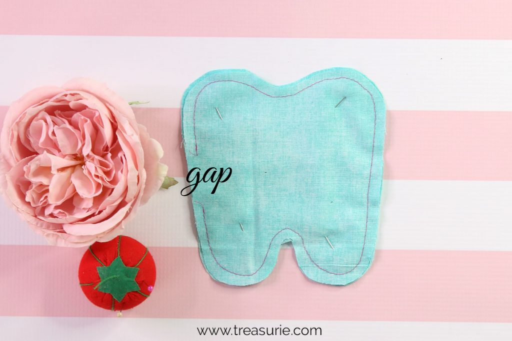 Tooth Fairy Pillow Pattern Gap