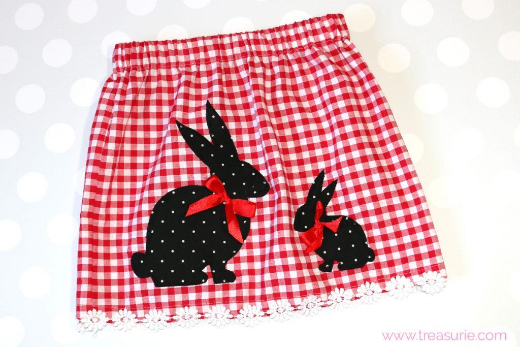 Rabbit Skirt Pattern