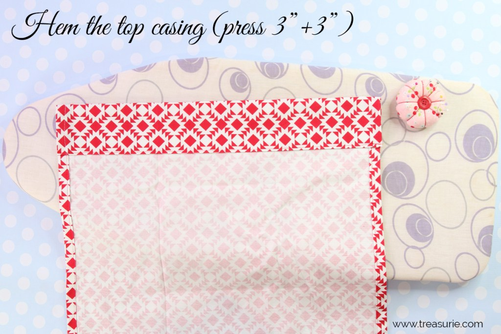 How to Make Curtains - Casing