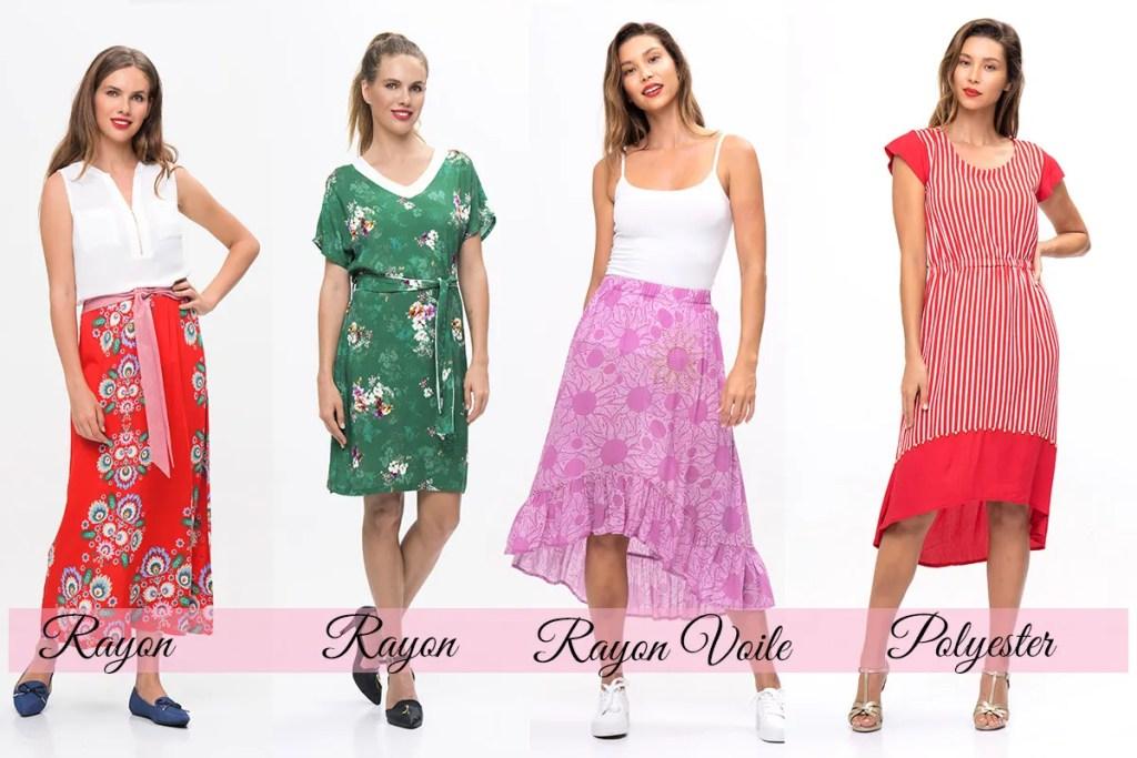 fabric with drape
