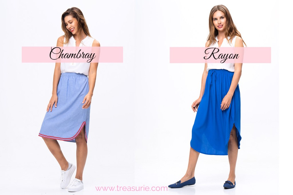 flattering fabrics for sewing