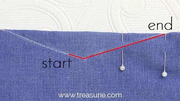Sewing Darts - Double - Stitching