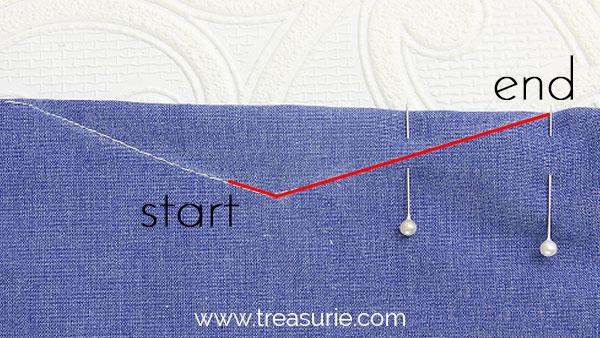 double dart waist dart