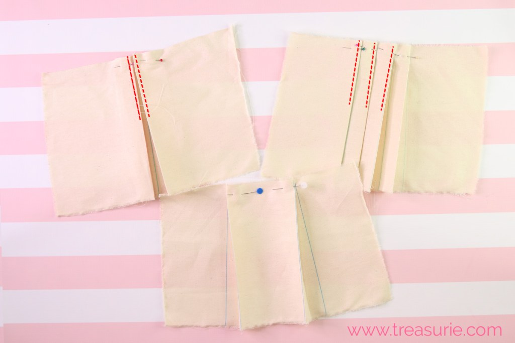 how to sew pleats