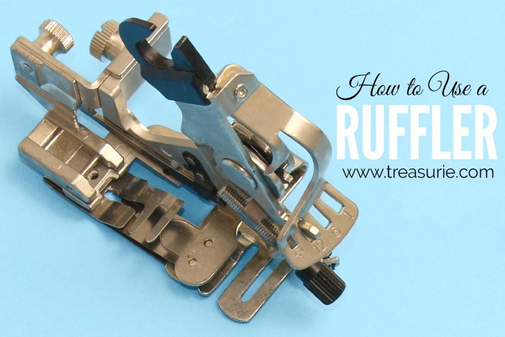 how to use a ruffler