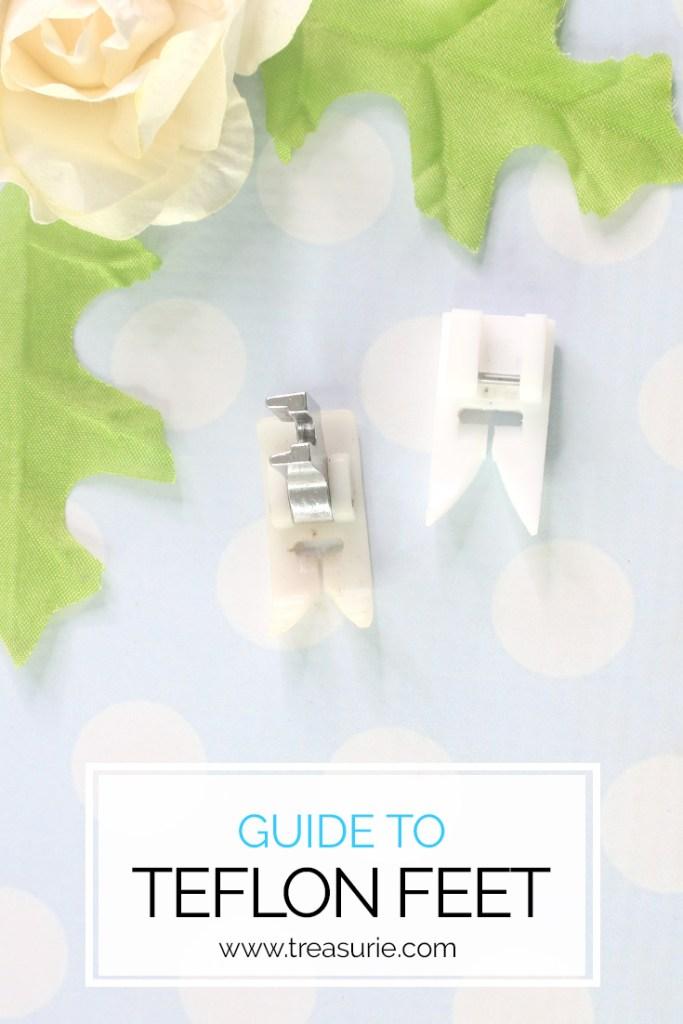 teflon sewing foot guide