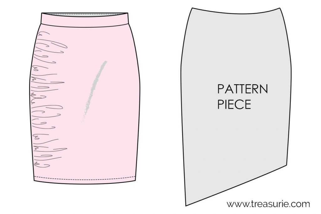 Ruching - Altering the Pattern