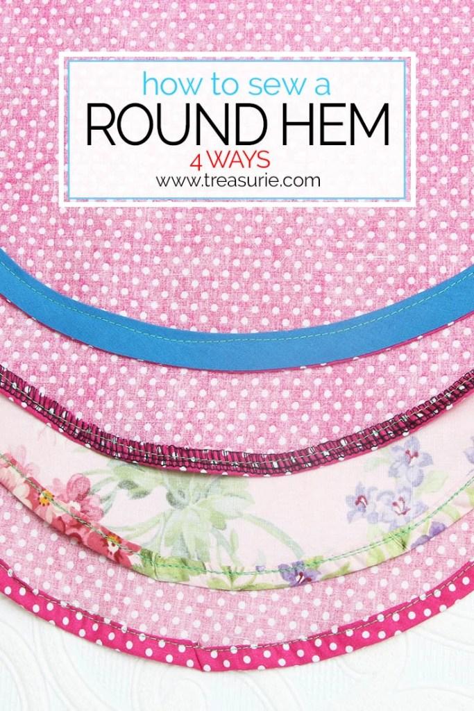 round hem, how to sew a round hem, circle hem