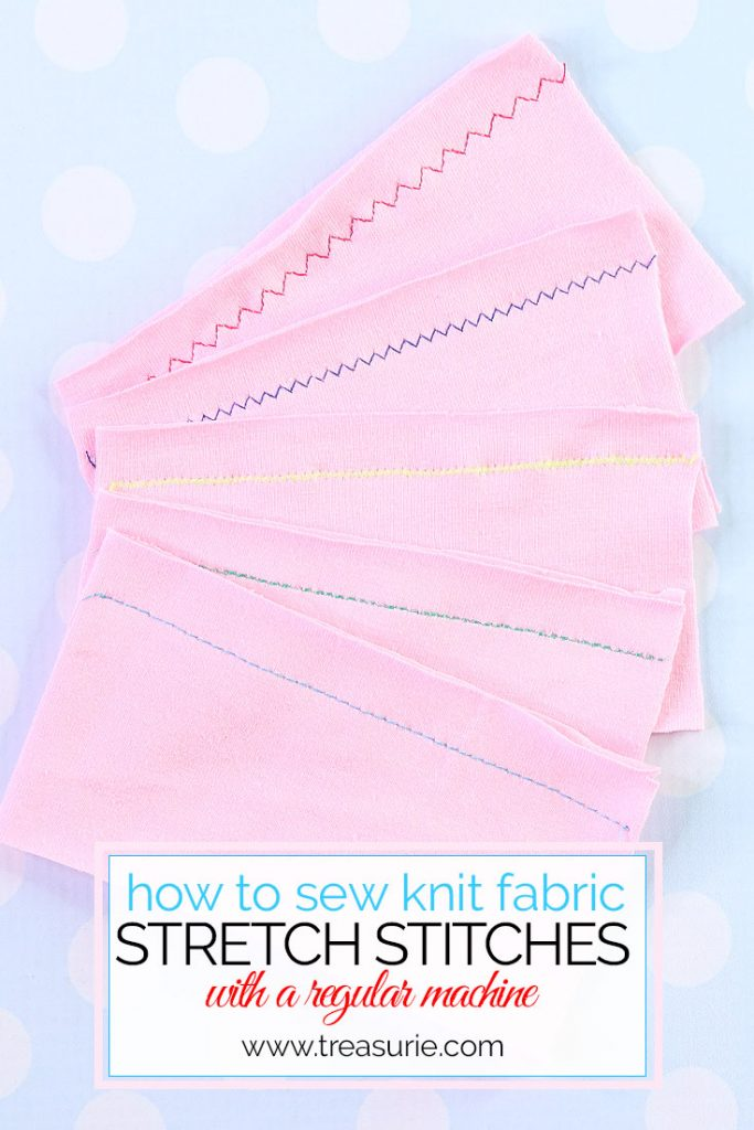 how to sew stretch fabric, sewing knits