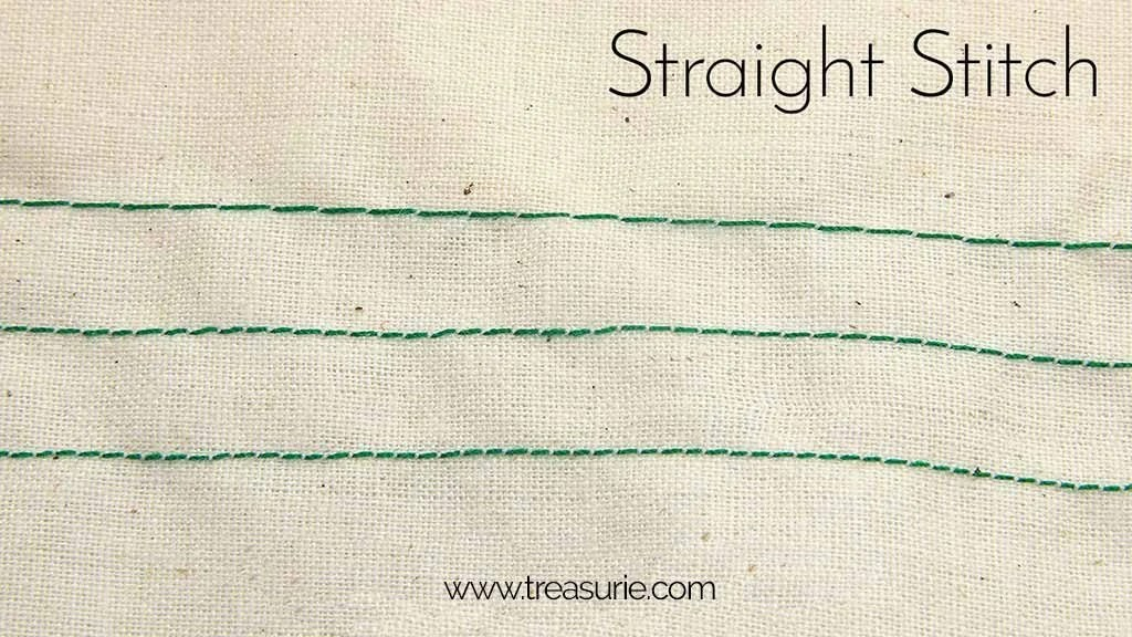 Sewing Basics Straight Stitch
