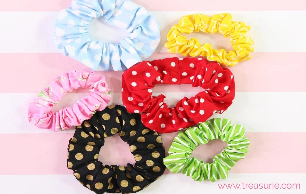Good Quality Lace Fabric Hair Scrunchies Made In U.K