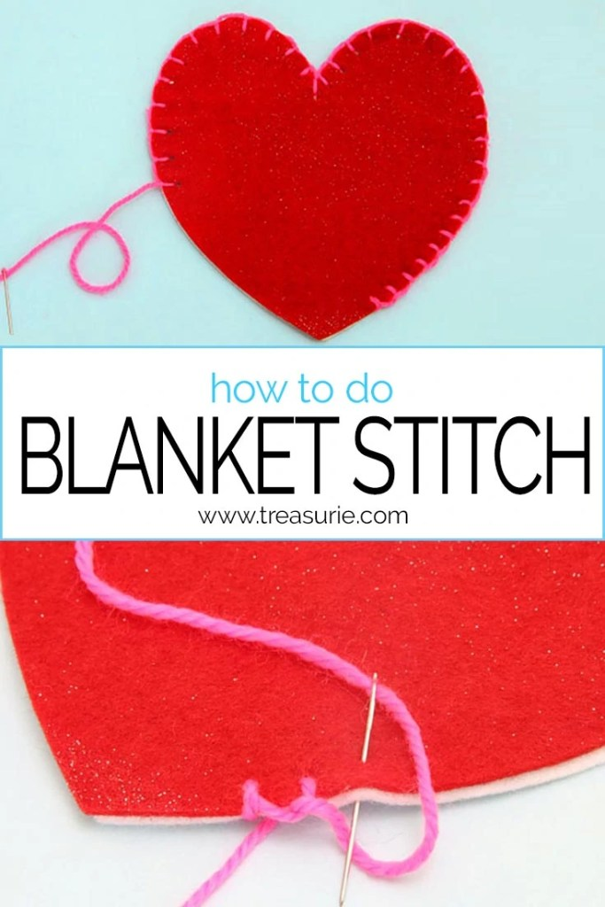 blanket stitch, how to do blanket stitch