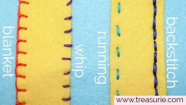 alternatives to whip stitch