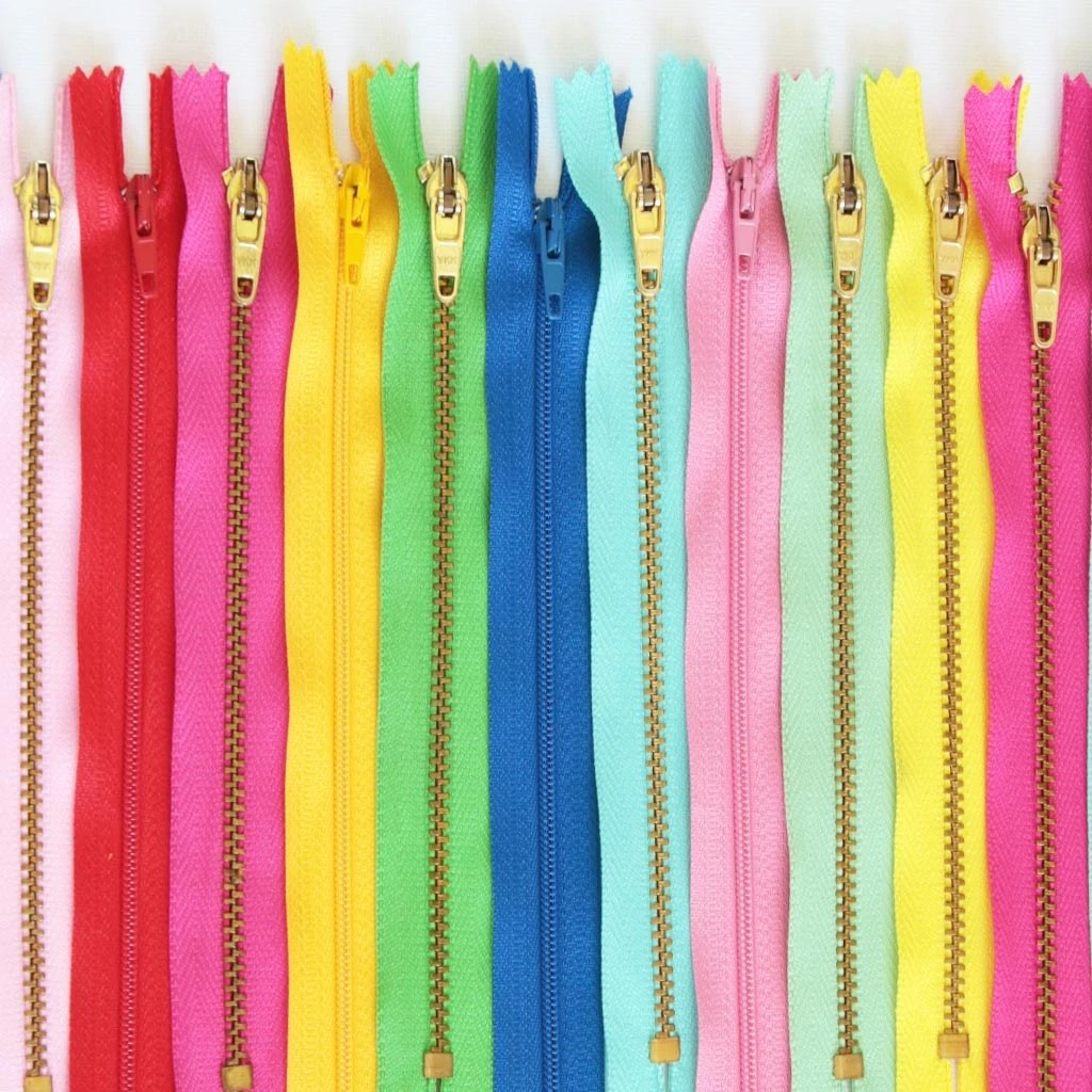 types of zipper