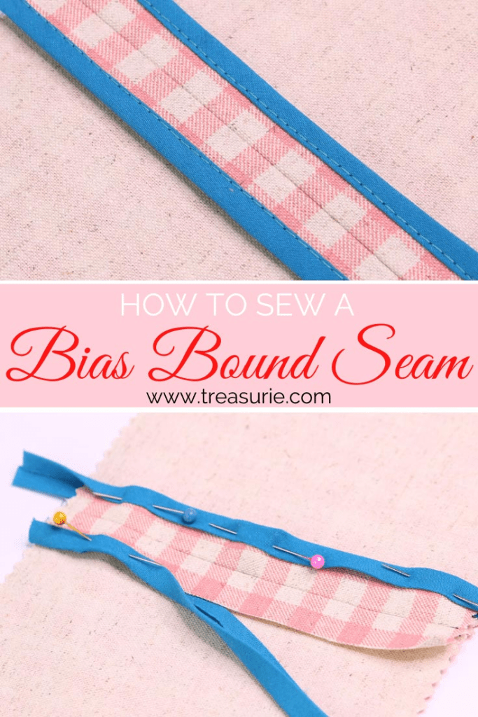 Bias Bound Seam, binding seams