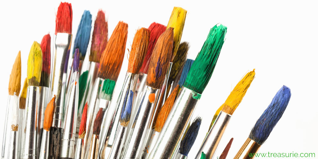 fabric painting brushes