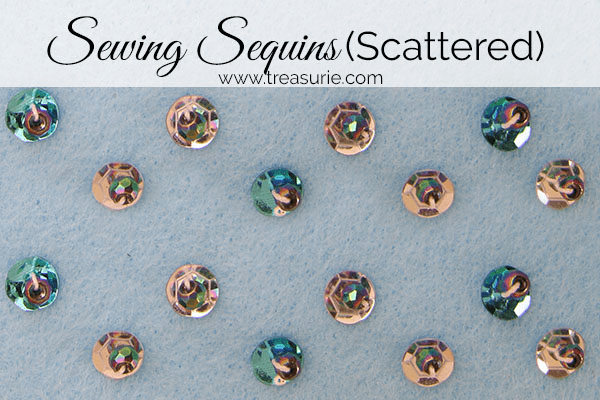 Sewing Sequins, How to Sew Sequins