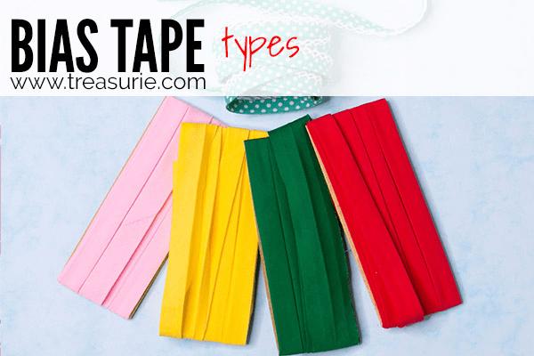 Sewing Bias Tape - Types
