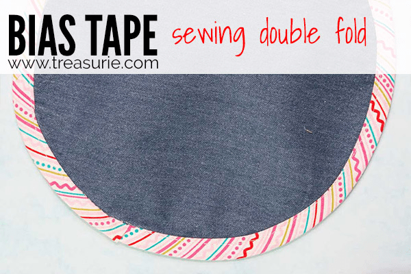 Sewing Bias Tape - Double Fold