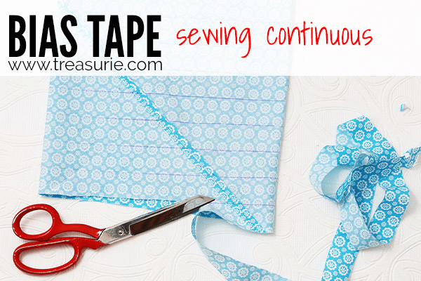 Sewing Bias Tape - Continuous