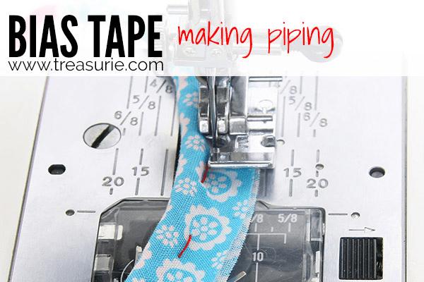 Sewing Bias Tape - Making Piping
