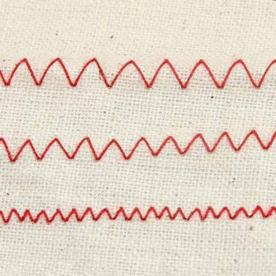 zig-zag stitch