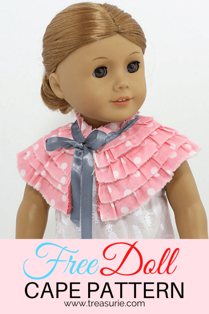 doll cape pattern