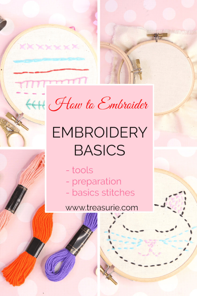 how to embroider, embroidery basics